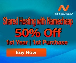 Shared Hosting with Namecheap. Free .Website domain & WhoisGuard