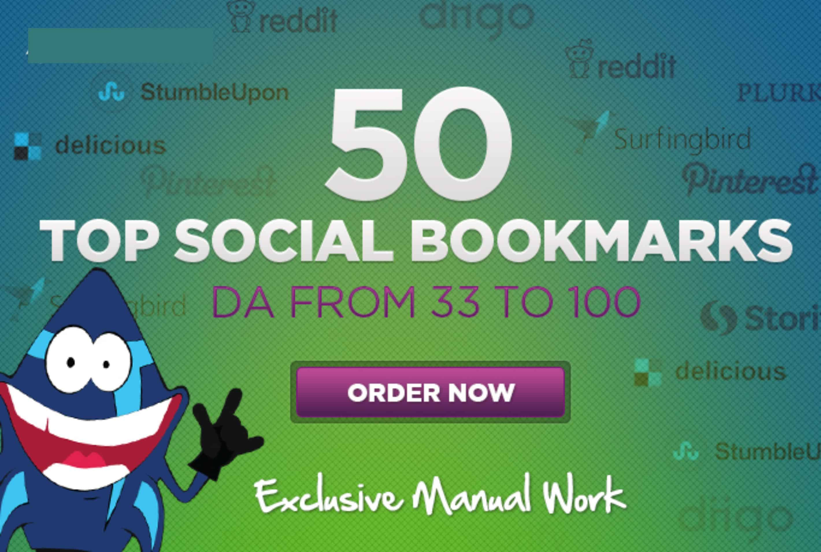 Boost SEO With 50 High DA Top Social Bookmarking Sites