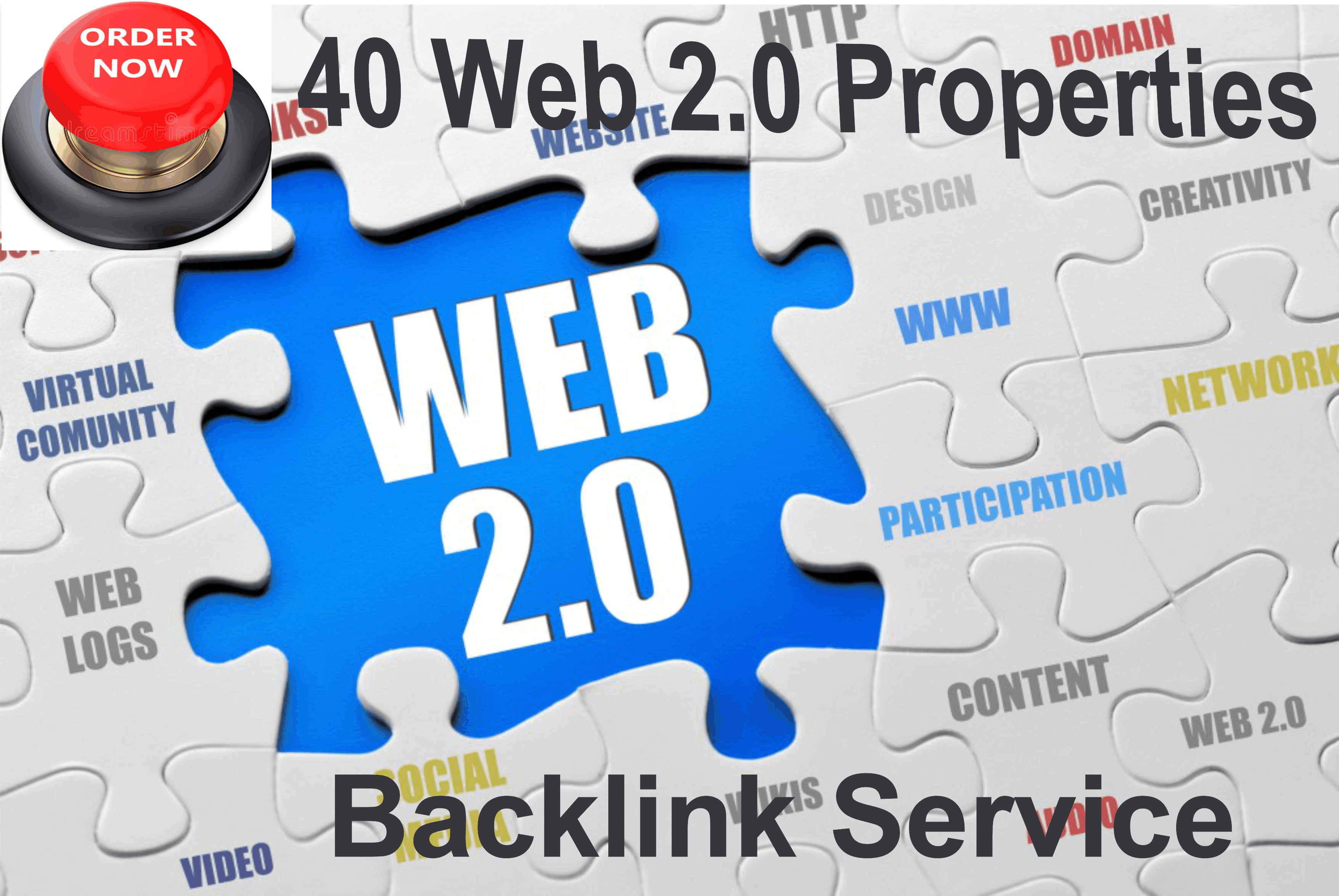 web 2.0 properties backlink service