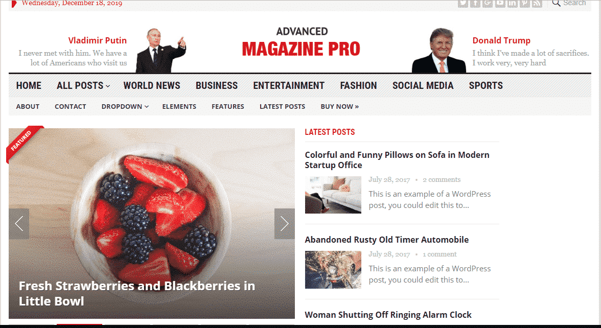 Advanced Magazine Pro